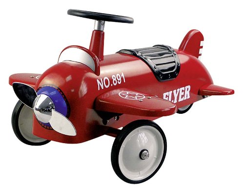 Goki 14151 - Rutscherfahrzeug Flugzeug