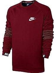 Nike M NSW AV15CRW FLC T-Shirt langarm, Herren