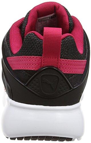 Puma Damen Aril Blaze Wns Sneakers Schwarz (nero-rosa Rosso 02)
