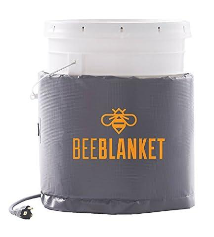 powerblanket bb20-uk isoliert, die Sie Heizung, Honig Bucket Heizung Bee Decke, feste Thermostat Set zu pflegen 38Grad C/100°F, 20L, (Lösung Pails)