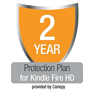 "2-Year Protection Plan with Accident & Theft Cover for All-New Kindle Fire HD 7"", UK customers only"
