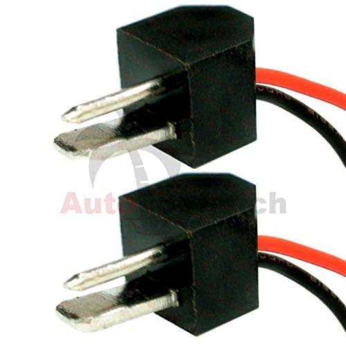 AutoScheich DIN Adaptador Conector Cable Altavoz para Oldtimer Youngtimer Auto Radio Radio