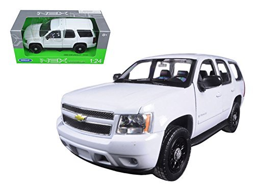 welly-124-w-b-2008-chevrolet-tahoe-police-version-solid-22509wep-w