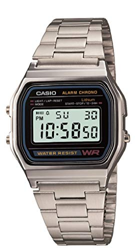 Casio Vintage Series Digital Grey Dial Men's Watch-A158WA-1Q (D011)