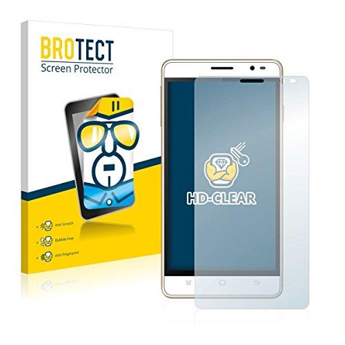 2X BROTECT HD Clear Bildschirmschutz Schutzfolie für Hisense HS-U972 (kristallklar, extrem Kratzfest, schmutzabweisend)