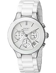 DKNY Damen-Armbanduhr Analog Quarz Keramik NY4912