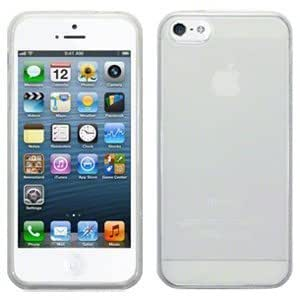 Decrescent Coque en gel silicone pour iPhone 5 d'Apple - transparent