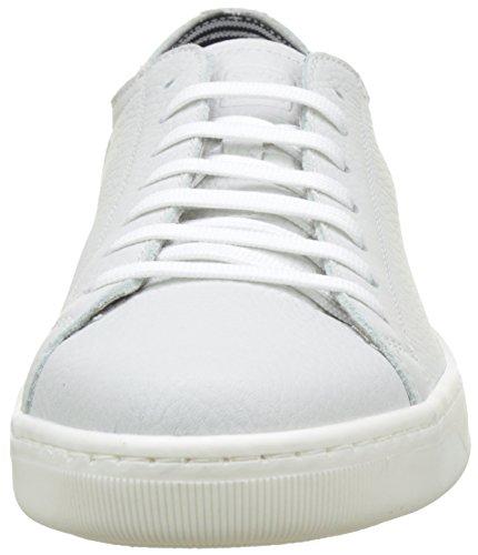 Geox Herren Uomo Ricky B Low-Top Weiß (whitec1000)