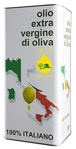 Olio extra vergine d'oliva aca agrolearia - latta da 5 lt