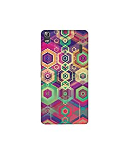Kolor Edge Printed Back Cover For Lenovo A7000 - Multicolor (4388-Ke10461LenovoA7000Sub)