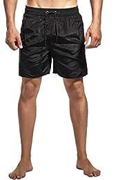 JiaMeng Pantalón Corto Pantalones Entrenamiento Deportivo Culturismo Pantalones  Cortos de Verano Entrenamiento Fitness Pantalones Cortos Gym 529fb76fecba