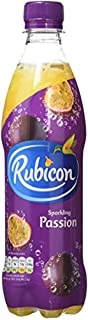 Rubicon Sparkling Passion Fruit Juice Drink Bottles, 500ml - Pack of 12 (B0048F6944) | Amazon price tracker / tracking, Amazon price history charts, Amazon price watches, Amazon price drop alerts