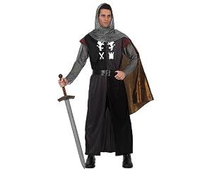 Atosa - Disfraz de caballero medieval para hombre, talla M/L (70008)