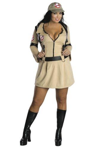 Sexy Ghostbuster Damenkostüm XL Halloween - Ghostbusters Für Erwachsene Plus Kostüm