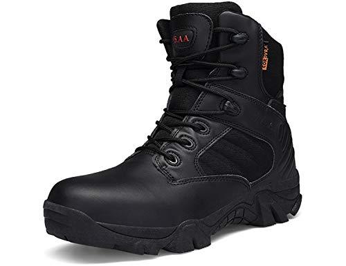 SINOES Hombres Retro Otoño Invierno Botines Calentar Botas De Nieve Anti-Deslizante Lazada Zapatos...