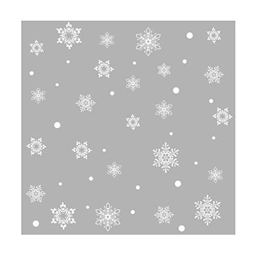 LED-Schneeflocke cm Fensterbild