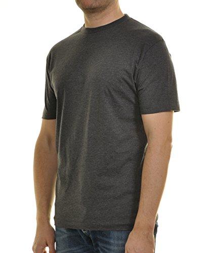 Ragman Herren T-Shirt Singlepack Anthrazit
