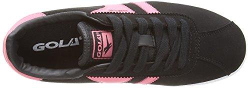 Gola Amhurst, Multisports outdoor Fille Noir - Black (Black/pink)