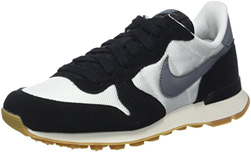 Nike Damen Internationalist Sneaker, Weiß (Summit White/Cool Grey-Black-Gum Medium Brown), 37.5 EU