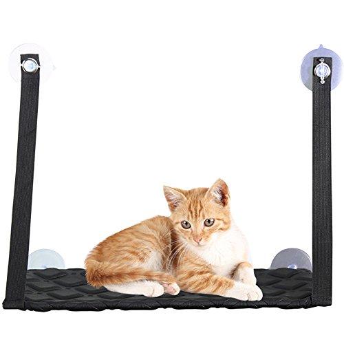 Urijk Katzen Saugnapf Hängematte Katzenhängematte Katze Wand Fensterplatz Katzenliege Katzenbetten Katzen Basking Katzenkissen