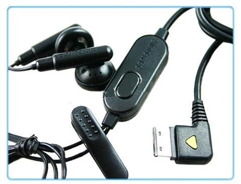 Handsfree Headset casque écouteur kit mainlibre Samsung C180 F400 F480 Player...
