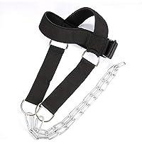 Angmile Fuerza Ejercicio Cinturón para la Cabeza Cabeza Cuello Músculo Work out Correa Proteger Cinturón