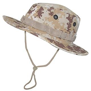 A. Blöchel US Army Outdoor Dschungelhut Rip Stop Boonie Hat Schlapphut in vielen Farben und Größen (XL, Vegetato Desert)