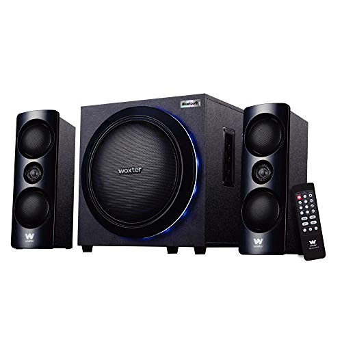 Woxter Big Bass 500R - Altavoces 2.1, 150W BLUETOOTH, LEDS, Subwoofer y...