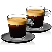 Lungo Nespresso 2x glass-glass collection-coffee
