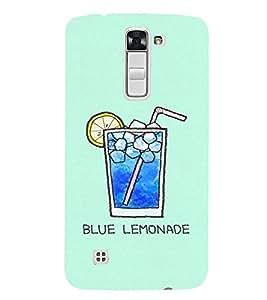 EPICCASE Blue Lemonade Mobile Back Case Cover For LG K10 (Designer Case)