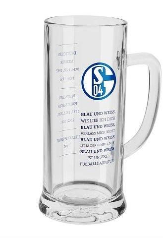 """FC Schalke 04 Bierkrug Blau & Weiß """"Erfolge"""""""