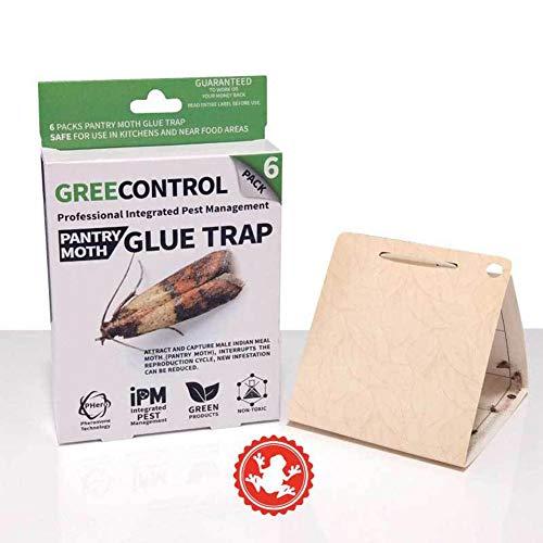 seasaleshop 6pcs pieges anti mites pour mite alimentaire mite de vetements pantry moth