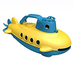 Green Toys Submarine (Blue Handle) - Bath and Water Toys