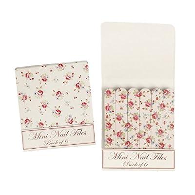 La Petite Rose Matchbook Mini Nail Files