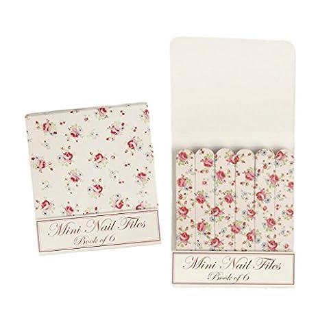 Set Of 6 La Petite Rose Matchbook Mini Nail