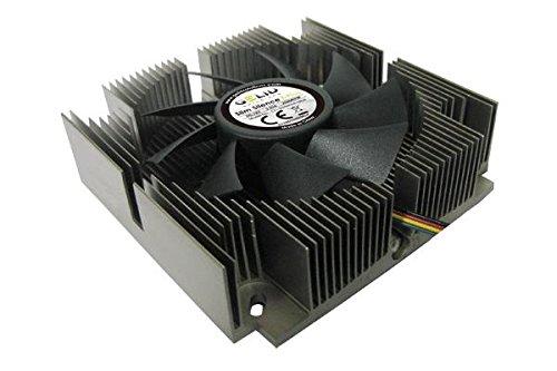 GELID SOLUTIONS Slim Silence i-Plus CPU Kühler (Silent PWM, Sockel 775/1155/1156, Mini ITX, Micro ATX, ATX) -