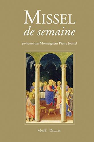 Missel de la semaine par Pierre Jounel