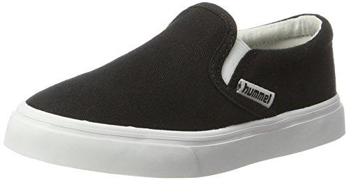 Hummel Slip-On Jr, Mocassins Mixte Enfant Noir (Black)