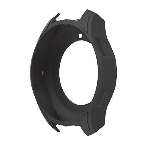 SUPORE Case pour Gear S3 Housse, Antichoc et Anti-Choc Housse de protection en silicone pour Samsung Gear S3 Classique / Frontier SM-R770 / SM-R760 Smartwatch