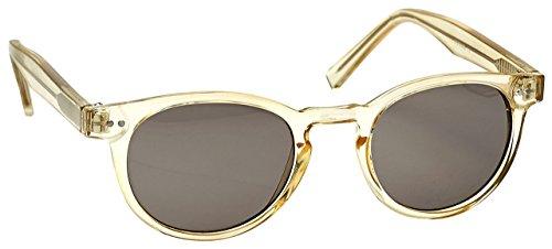 Die Lesebrille Unternehmen Transparentee Gold Sonnen-Leser UV400 Designer Stil Frauen Damen S89-9 Dioptrien +1,00