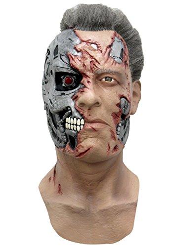 Cyborg T-800 Maske Terminator Genisys - Hand (Cyborg Kostüme Erwachsene)