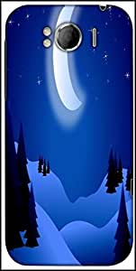 Snoogg Bright Night Designer Protective Back Case Cover For HTC Sensation Xl