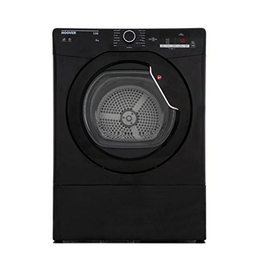 Hoover HLV8DGB-80 8kg Vented Tumble Dryer Black