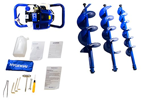 Hyundai HYEA5080 50.8cc 2-Stroke Petrol Earth Auger/Borer/Drill