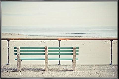 """JUNIQE® Bild mit Rahmen 20x30cm Strände - Design """"Front Row"""" (Format: Quer) - Wandbilder, Gerahmte Bilder & Gerahmte Poster von jungen Künstlern - Fotografie & Foto Kunst - entworfen von Cordula Schaefer"""