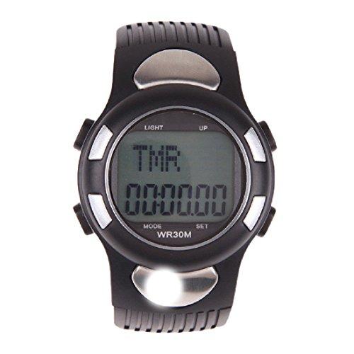 Multifonctionnel 3D podomètre moniteur de fréquence cardiaque Wristwatch Avec Calories rétroéclairage Calorie Counting fréquence cardiaque Luwu-Store