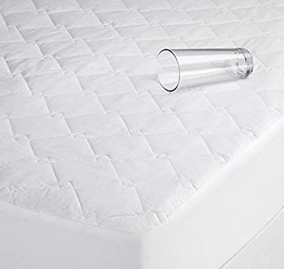 "Luxury Quilted Waterproof Mattress Protector Topper Bunk Bed 2 ft 6"" produced by Ideal Textiles - quick delivery from UK."