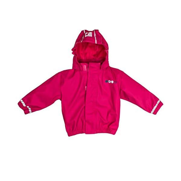 Salt & Pepper Jacket RB B Girls Uni Chaqueta Impermeable para Bebés 1