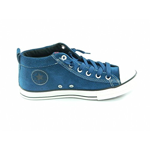Converse All Star Street Cab Mid Suede 628739c Enfant Chaussures Bleu BLUE