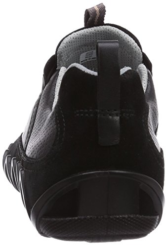 Ecco Dayla Damen Sneakers Schwarz (Black/Black Suede/Feather51707)
